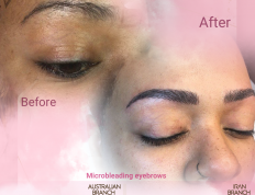 eyebrow microblading & micro blade eyebrows & tattoo brow in Della eyebrows