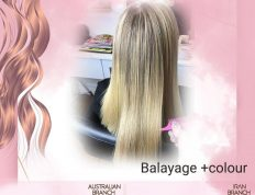 Hair Balayage and Hair colour